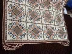Gallery.ru / Фото #131 - neo - karadima Bargello, Needlepoint, Cross Stitch, Diy Crafts, Embroidery, Crochet, Handmade, Patterns, Gallery
