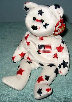 Ty BEANIE BABY ORIGINAL COLLECTION GLORY JULY 4, 1997 mint condition
