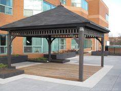 A great gazebo can transform any outdoor space into a picturesque retreat. True North Plans makes it all possible with its customizable gazebo plans. Gazebo Plans, Gazebo Pergola, Pergola Kits, Gazebo Ideas, Raised Bed Garden Design, Shade Canopy, Montpellier, Backyard Sheds, Outdoor Living