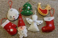 craft-of-felt-on-the-Christmas-8.jpg (602×400)