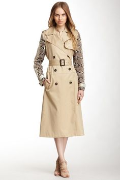 Chloe Double Breasted Trench Coat http://www.hautelook.com/short/3HlX8