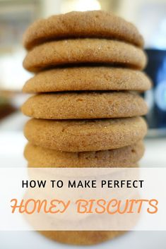 This Honey Biscuits recipe is beautiful in its simplicity. This recipe uses just one spice – cinnamon. And plenty of honey. Honey Recipes, Sweet Recipes, Baking Recipes, Cookie Recipes, Dessert Recipes, Desserts, Baking Ideas, Honey Biscuit Recipe, Recipe Of Biscuits