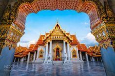 大理石寺Wat Benchamabophit by vcg-silencew