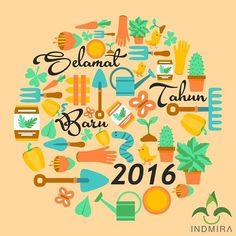 Selamat tahun baru 2016 sobat Indmira! Semoga di tahun ini semua yang diinginkan dapat terwujud. Yang pasti tahun ini harus lebih baik dari tahun kemaren. Oke? Setuju? :) . . . #INDMIRA #IndmiraPic #Indmira #hydroponics #aquaponics #aqua #plantation #organicproducts #urbanfarming #vertikultur #verticalfarming #hidroponik #hidroponikindonesia #akuaponik #menanam #planting #gogreen #saveearth #savewater #noplastic #nolitering by indmira