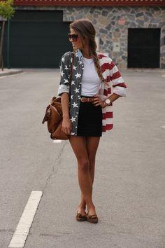 I want her American flag shirt