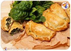 calzoni ricotta e spinaci #italianfood #food #cibo #ricette #recipes