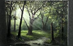 Paint with Kevin Hill - Sunray Forest