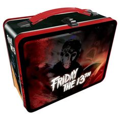 Friday the 13th Gen 2 Fun Box Tin Tote - Aquarius - Horror: Friday the 13th - Lunch Boxes at Entertainment Earth