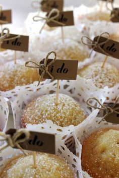 """I DO"" wedding cupcake toppers!"