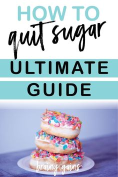 Weight Loss Plans Lose Belly Are you wanting to quit sugar and live a healthier life but not sure where to start? Here& my ultimate guide to breaking the sugar addiction and quitting sugar for good! Banting Recipes, Low Carb Recipes, Vegan Recipes, Healthy Habits, Get Healthy, Health And Wellness, Health Fitness, Wellness Tips, Mental Health