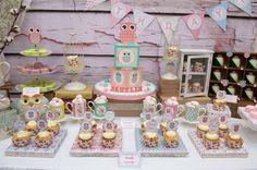 Owl Birthday Party Ideas | Photo 1 of 24