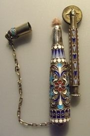 early 1900's enamel lighter from moscow