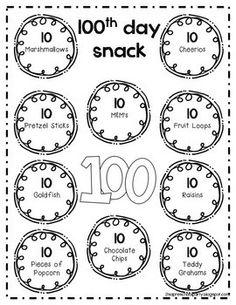 100 DAYS SMARTER CLASSROOM PACK #1 - TeachersPayTeachers.com