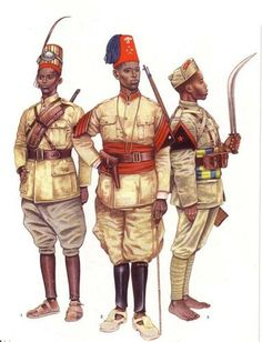 Ethiopian soldiers [askaris] serving under fascist Italy during the Second Italo-Abyssinian War