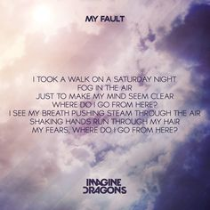 My Fault - Imagine Dragons