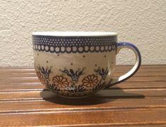 Polish Pottery Large Coffee Mug / Soup by MimisMiniMarketplace