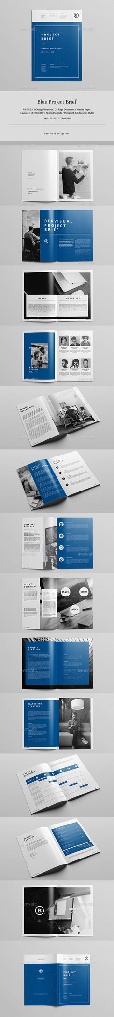 Blue Project Brief - Corporate Brochures Download here : https://graphicriver.net/item/blue-project-brief/19661595?s_rank=79&ref=Al-fatih