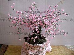 Sakura beaded tree directions, easy