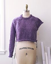 How to improvise a top-down sweater, Part Casting on and marking raglans - Fringe Association Finger Knitting, Free Knitting, Vest Pattern, Free Pattern, Granny Square Sweater, Knitting Machine Patterns, Knitting For Charity, Fingerless Mitts, Bind Off