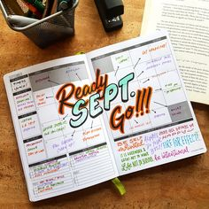 Ready. Sept. Go! - Start this month off strong! What goals do you want to accomplish this month? - #passionplanner #helloseptemeber #newmonth #freshstart #yay #newgoals