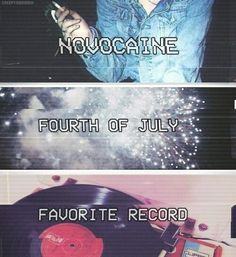 fourth of july fall out boy mikey way