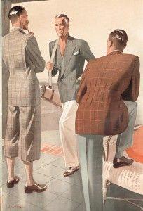 Let's bring back illustration - Eric Musgrave Vintage Gentleman, Dapper Gentleman, 1940s Mens Fashion, Vintage Fashion, Mode Vintage, Vintage Men, Sharp Dressed Man, Casual T Shirts, Fashion Art