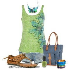 Cool Summer, created by marykate2345 on Polyvore
