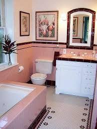 Pink Tile Bathroom Decorating Ideas Google Search Art Deco Bathrooms