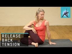 ▶ Yoga Twists to release Tension in the Back - YouTube