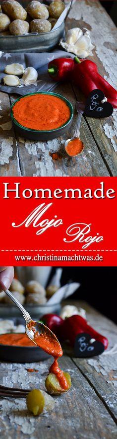 Hausgemachte Mojo Rojo, genau wie man sie auf Gran Canaria bekommt - das muss kein Traum bleiben, hier habe ich das Rezept für euch! Mit viel Knoblauch und äußerst aromatisch. --- Mojo Rojo as good as on a canary island? Yes! I got the Recipe for you on hand.