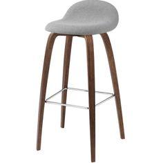 Gubi 3D - Wooden Base Stool - Genuine Designer Furniture and Lighting