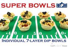 Smart School House: Super Bowls (Individual 7-Layer Dip)