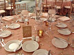 Julie + Timmy | Table Setting | @fsdallas wedding | @poshcouture