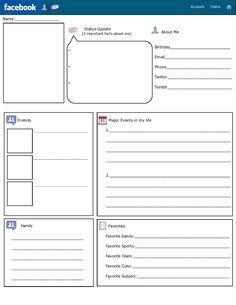 First week Facebook activity