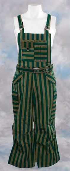 Sebastians striped overalls from Blade Runner.