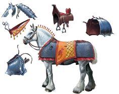 Horse Armour Breakdown by BenWootten.deviantart.com on @deviantART