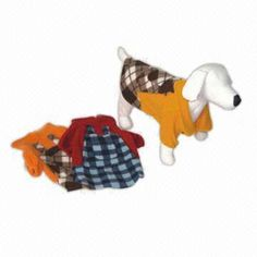 100% Cotton Dog Coat, Availble in Different Colors and Sizes
