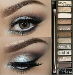 Urban Decay Naked Palette - another gorgeous tutorial.