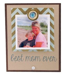 Best Mom Ever Magnet Frame | Mothers Day Gift, Personalized Frame, Instagram…