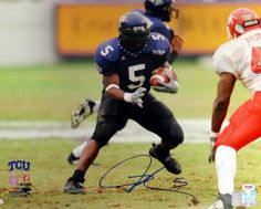 LaDainian Tomlinson Autographed 16x20 Photo TCU Horned Frogs PSA/DNA Stock #77829