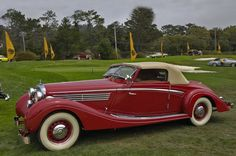 Maybach Maybach Car, Mercedes Maybach, Vintage Cars, Antique Cars, Vintage Auto, Roadster, Classic Mercedes, Classy Cars, Sweet Cars