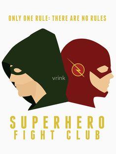"""Superhero Fight Club"" T-Shirts & Hoodies by vrink   Redbubble"