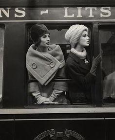 Paris, 1960. Photographed by Louis Faurer.