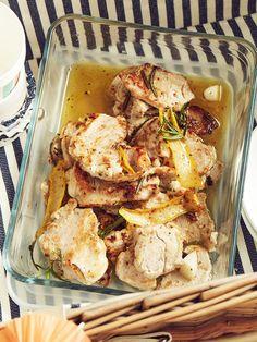 Mini-Schnitzel: Schweinemedaillons in Zitronenmarinade