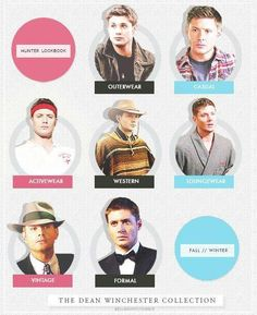 The Dean Winchester Collection