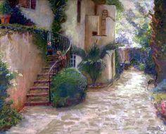 "Susan Knightsmith. ""Charleston Courtyard"""