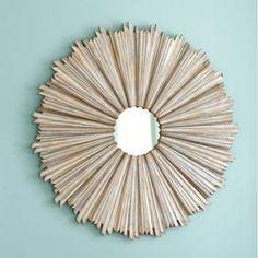Suzanne Kasler D'or Sunburst Mirror | Ballard Designs