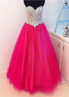 Sexy Sweetheart Prom Dress,Sleeveless Open Back Tulle Evening