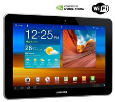 Samsung Galaxy Tab WiFi 16 Go P7510, Android 3.1 (Honeycomb) thinking I'll get one