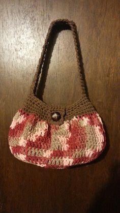 #Crochet handbag purse easy TUTORIAL -Teresa Restegui http://www.pinterest.com/teretegui/ ✔